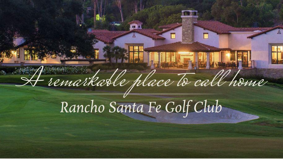 Rancho Santa Fe CC Pic